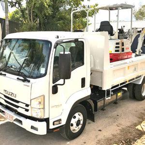 Isuzu FRR Tip Truck Hire Rockhampton